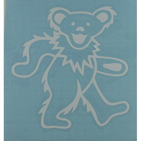 Officially Licensed Grateful Dead Dancing Bear Rub On Sticker
