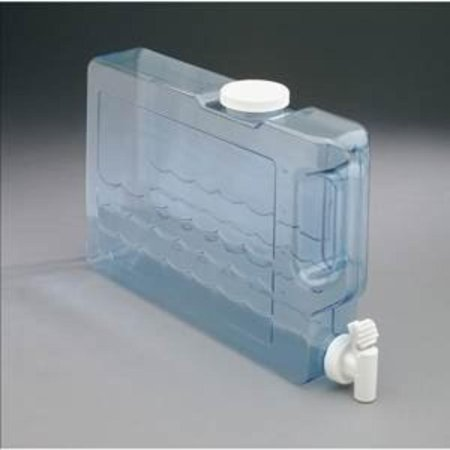 Slimline Beverage - Slimline Beverage Container 5 Qt, Small size fits neatly into refrigerator By Arrow Plastic