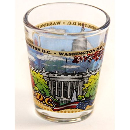 Washington D.C. Wraparound Shot Glass