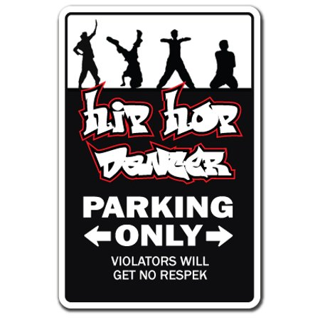 HIP HOP DANCERS Decal gangster dance dancer music rap rapper shoes clothes | Indoor/Outdoor | 5