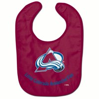 Colorado Avalanche Official NHL Infnat One Size Baby Bib by McArthur 206442
