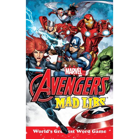 Marvel's Avengers Mad Libs - Mad Libs Halloween