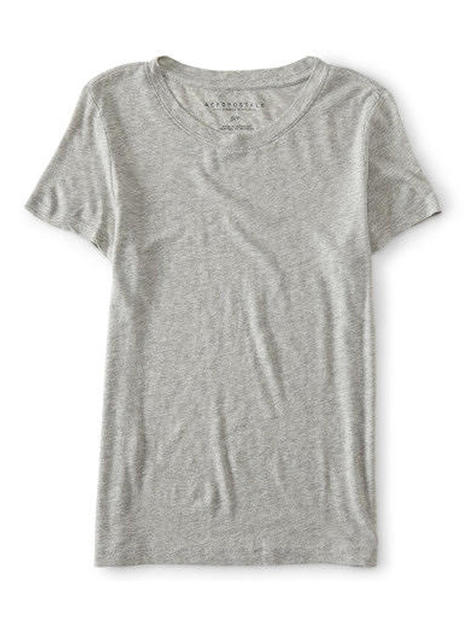 52899a1d Aeropostale Juniors Solid Basic T-Shirt 001 Xl - Juniors