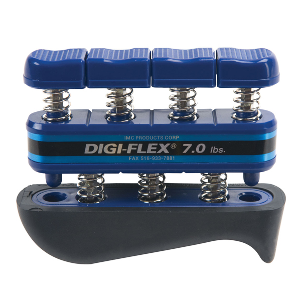 Cando Digi-Flex Hand/Finger Exerciser-Blue (7 lbs)