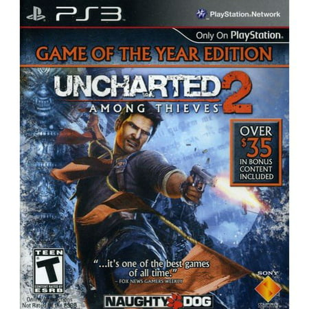 Sony Uncharted 2: Game of the Year (PS3)
