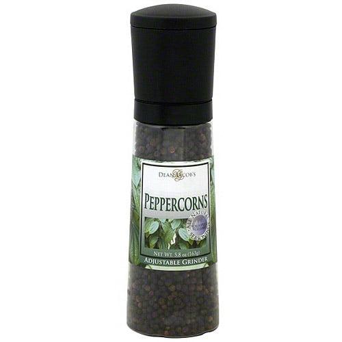 Dean Jacob's Black Peppercorns, 5.8 oz (Pack of 6)