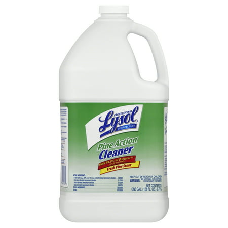 Professional Lysol Pine Action Cleaner, Concentrate, 1 (1 Gallon Grill Cleaner)