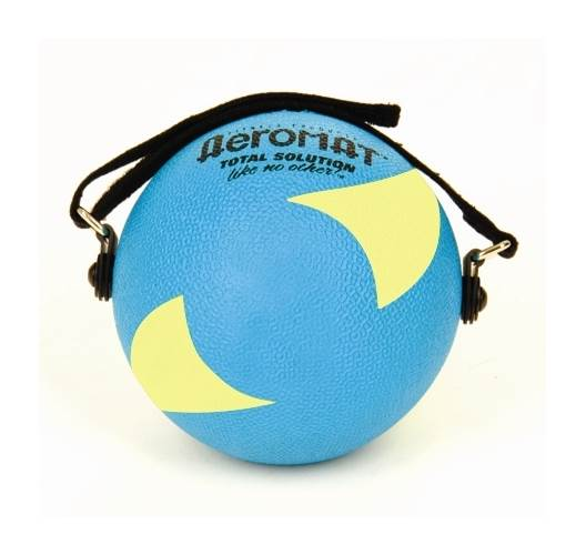 Power Yoga 2 lb. Weight Ball in Teal and Yellow