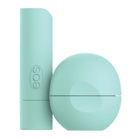eos 100% Natural & Organic Lip Balm Stick & Sphere - Sweet Mint | 0.39 oz | 2-pack