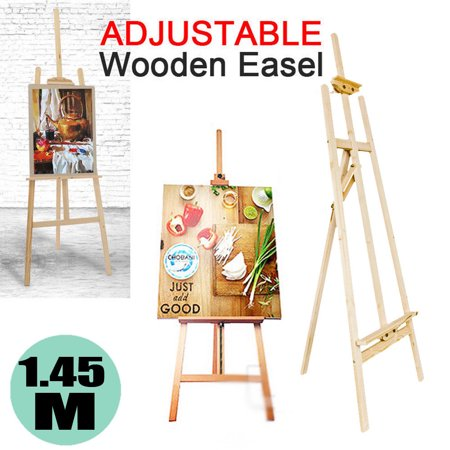 Canvas Holder - Portable Tripod Easel Durable Wood Sketch Fold Art Craft Painters Canvas Holder