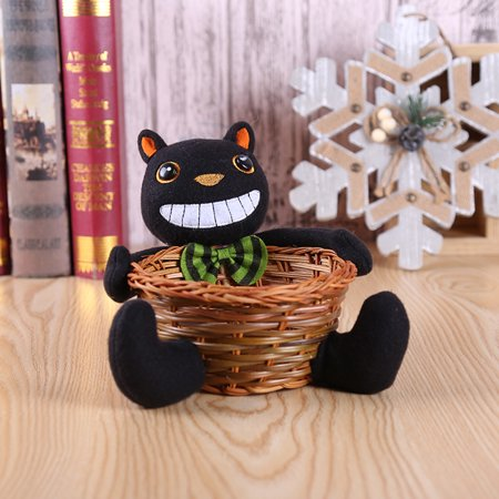 Halloween Fruit Basket Ideas (Doll Fruit Decoration Bowl Halloween Ghost Candy Basket Home Decor)