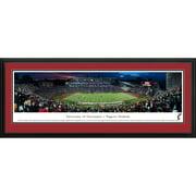 "Cincinnati Bearcats 18"" x 44"" Deluxe Frame Panorama Wall Art"