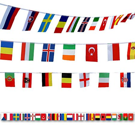 Olympic Flags Pennant Banner Ideal for Bar & Sports Clubs 200 Countries 164 Feet