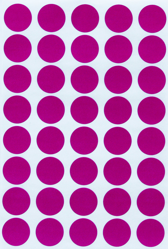 "Pack of 1,000 JOT Removable 4 Colors Coding Labels dots  1//4/"""