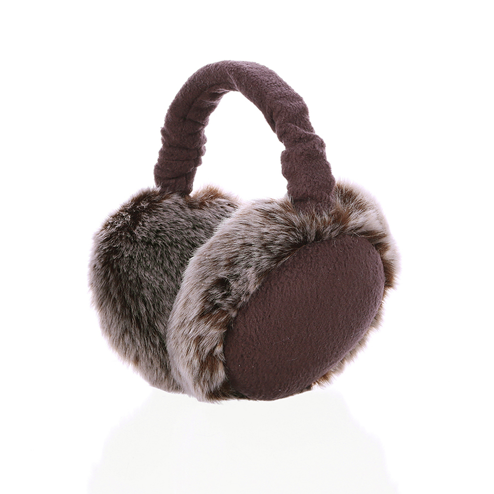I Want A New Day Winter Earmuffs Ear Warmers Faux Fur Foldable Plush Outdoor Gift