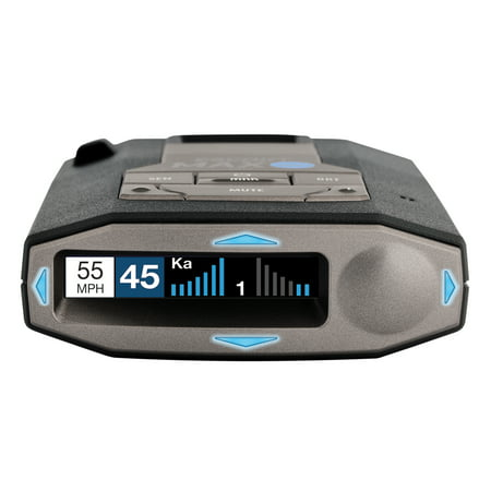 ESCORT MAX 360c DSP W/WiFi Connected Laser & Radar Detector w/ Live Streaming Alerts from the Cobra / ESCORT Driver Network