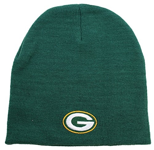 NFL Green Bay Packers Cuffless Knit Beanie Hat Green