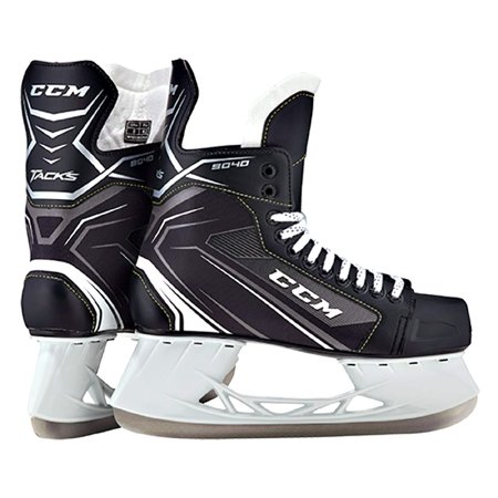 CCM Unisex SK9040 PLAYER TACKS JR Hockey Skate, Junior, Black,