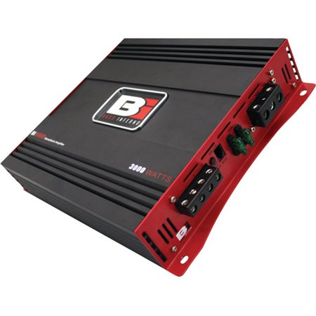 Bass Inferno BI3000D 3,000W Black Edition Series Class D Amp