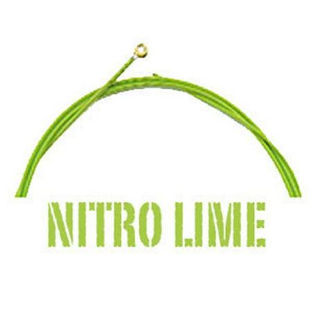 Aurora NITRO.LIME.50-110 Standard 50-110 Gauge Bass Guitar Strings, Nitro Lime