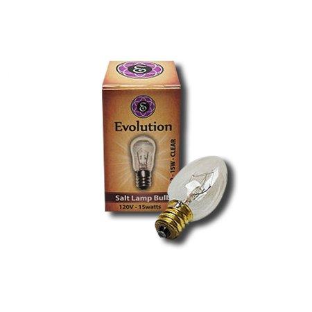 EVOLUTION SALT - Bulb for Salt Lamp 15 watt - Walmart.com