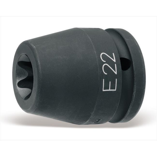 Beta Tools 007280420 728FTX 20 mm. Impact Sockets Tx Head Screws
