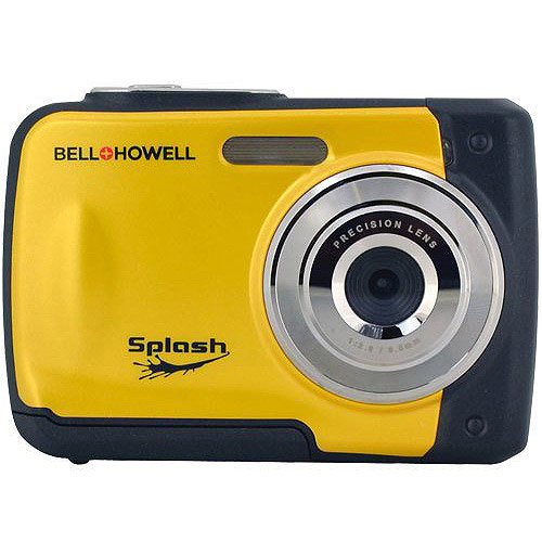 BELL+HOWELL Yellow WP10 12.0 Megapixel Waterproof Digital Camera