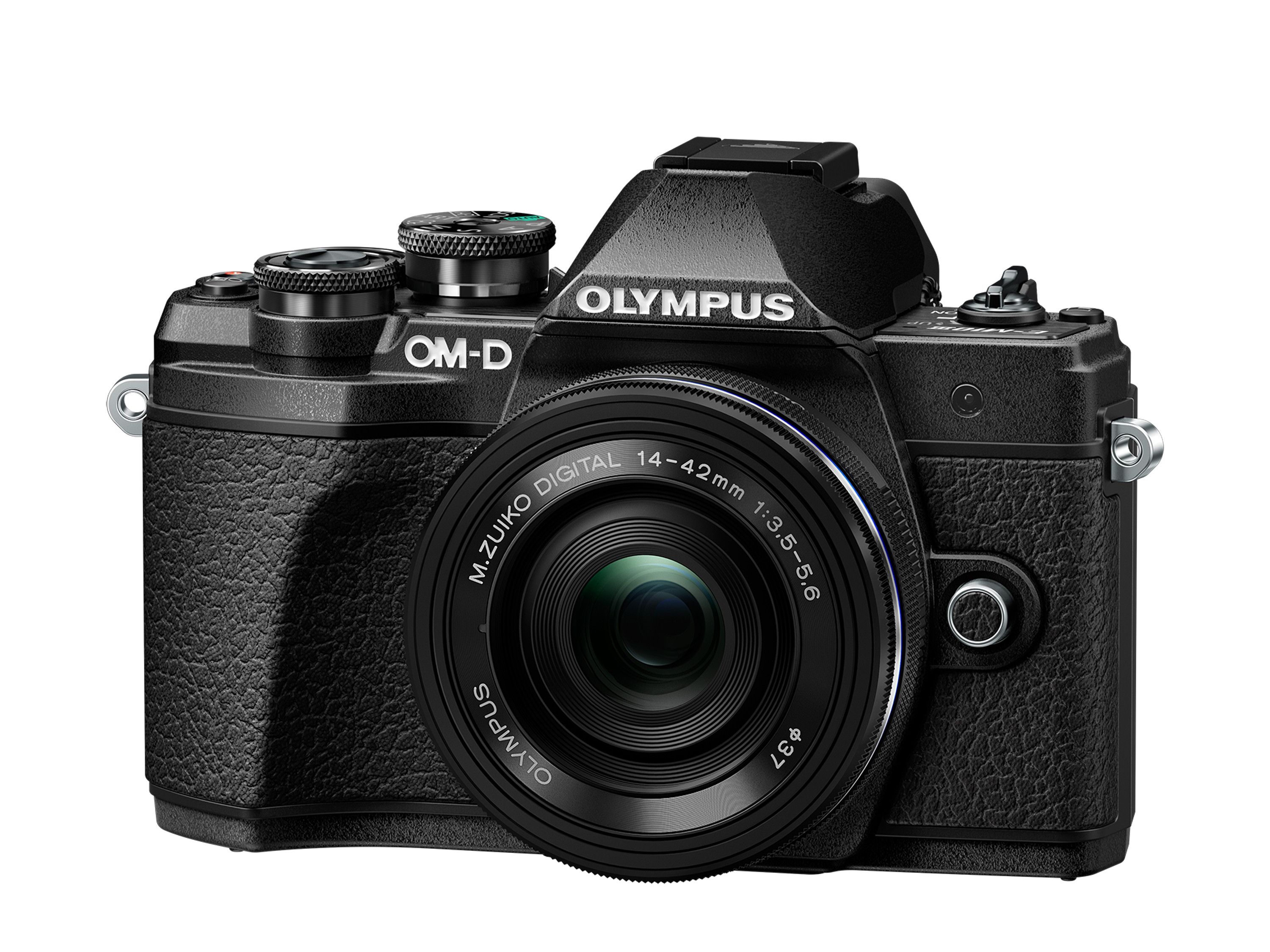 Olympus OM-D E-M10 Mark III Mirrorless Micro Four Thirds Digital Camera with...