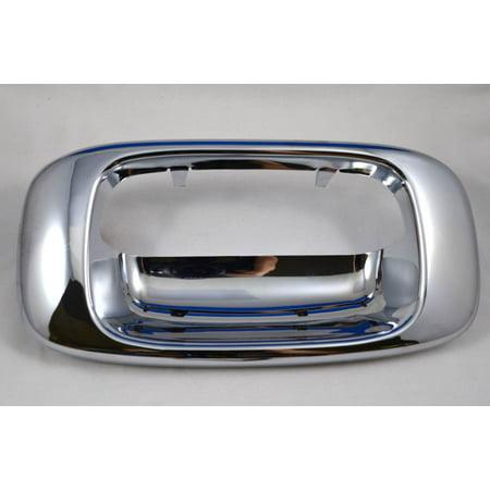 - PT Auto Warehouse GM-3523M-BZ - Tailgate Handle Trim/Bezel, Chrome
