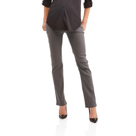 Maternity Stretch Twill Bootcut Pants -- Available in plus Sizes (Cotton Bootcut Pant)