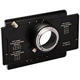 Pentax Pk Mount - Fotodiox Pro Lens Mount Adapter - Pentax K Mount (PK) D/SLR to Large Format 4x5 View Cameras with a Graflok Rear Standard - Shift / Stitch Adapter