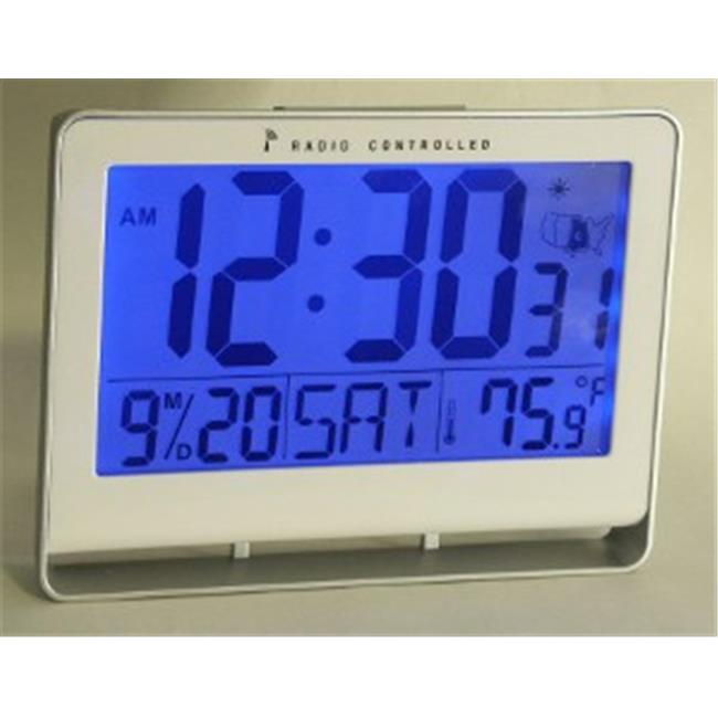 Atomic Clock with 2'' Number & Light
