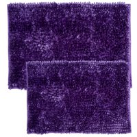 Chicago Butter Chenille 2 Piece Bathroom Rug Set