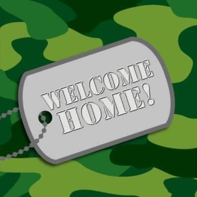 Camouflage Welcome Home Lunch Napkins , 4PK