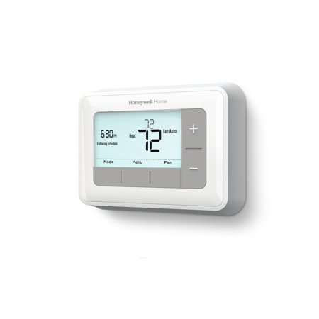 Honeywell 7-Day Programmable Thermostat, Gray/White