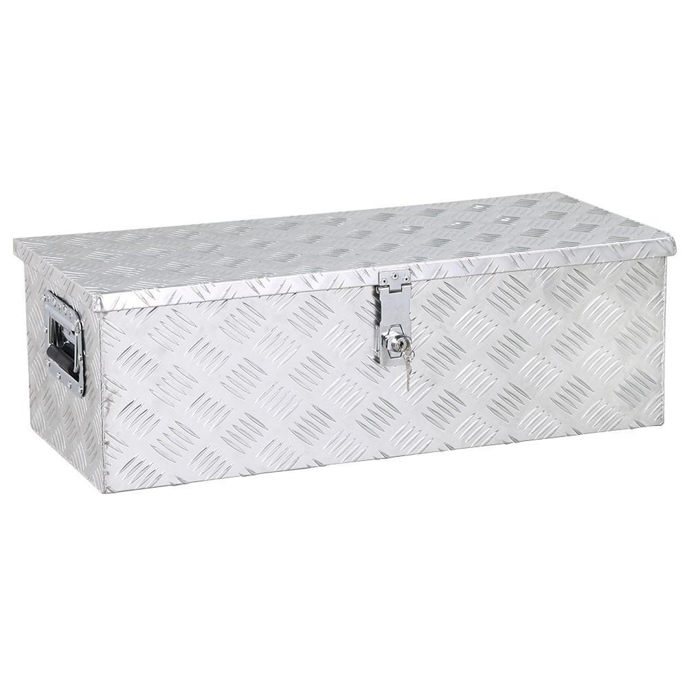 YaHeetech Aluminum Tool Box Storage for Truck Pickup Bed Trailer with Lock,30 x 13 x 10''... by Yaheetech