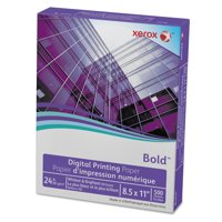 Xerox Digital Color Xpressions Paper, 98 Brightness, 24lb, 8-1/2x11, WE, 500 Shts/Rm