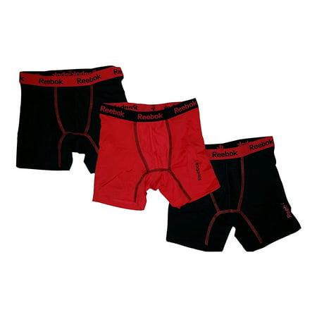 Reebok 3-Pack Boys' Stretch Performance Boxer