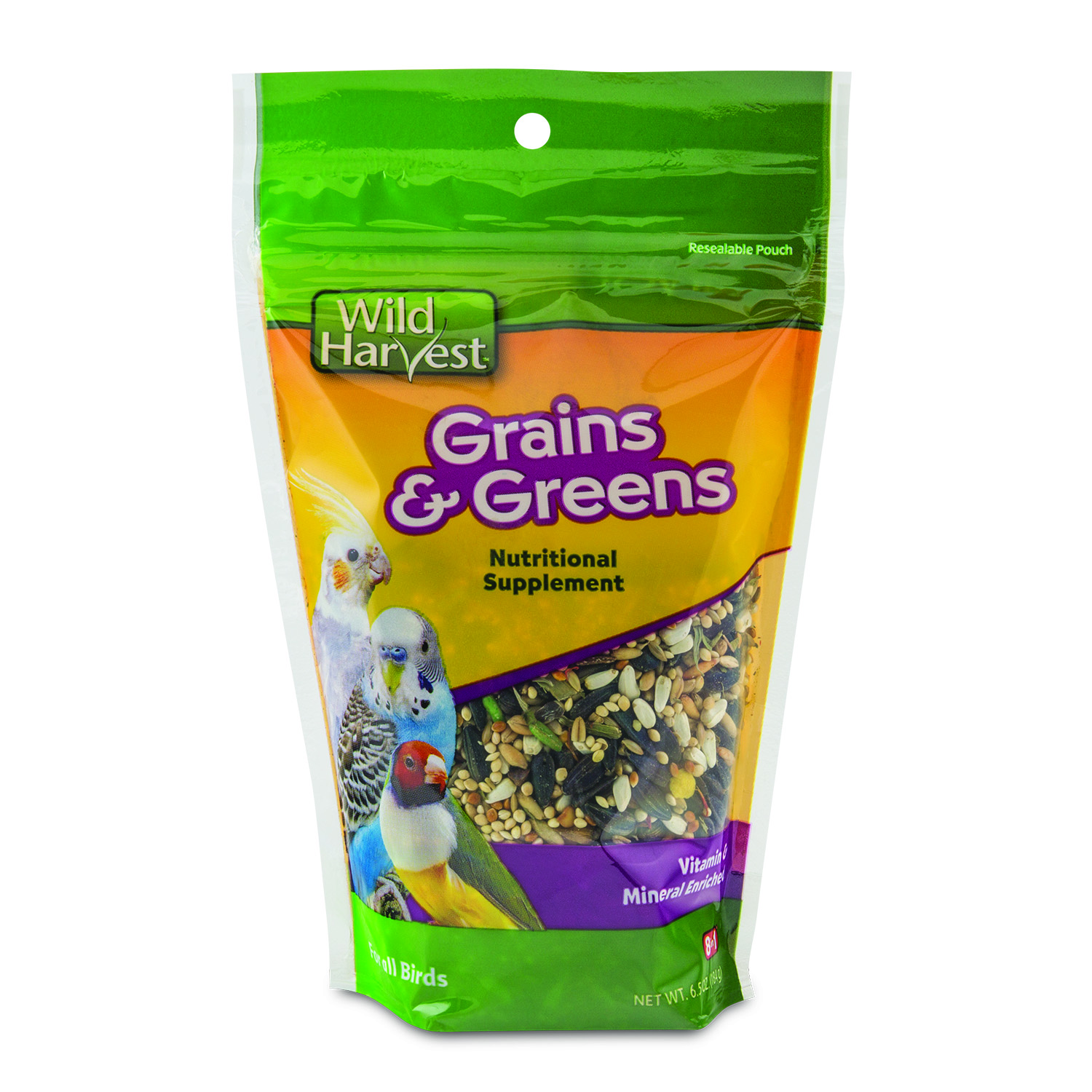 Wild Harvest Grains & Greens Supplement for all Birds