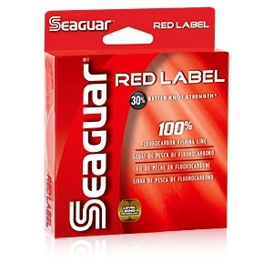 Red Label 100% Fluorocarbon Fishing Line by Kureha America, Inc