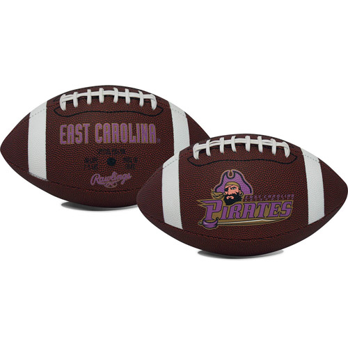 Rawlings Gametime Full-Size Football, East Carolina Pirates