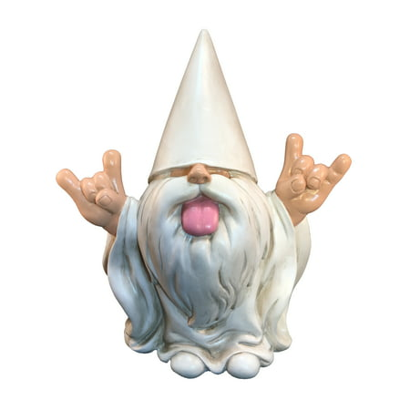 """Rocker Gnome – """"George"""" – This Gnome will Rock your Fairy Garden and Garden Gnomes - 10 Inches Tall - Gnome Glider"""
