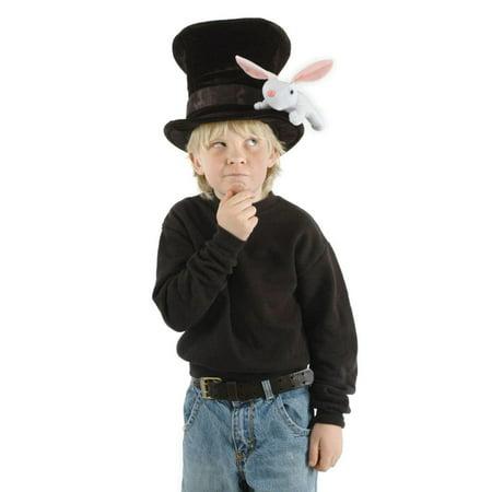 Rabbit Knit Hat (Magician with Rabbit Child Costume Hat)