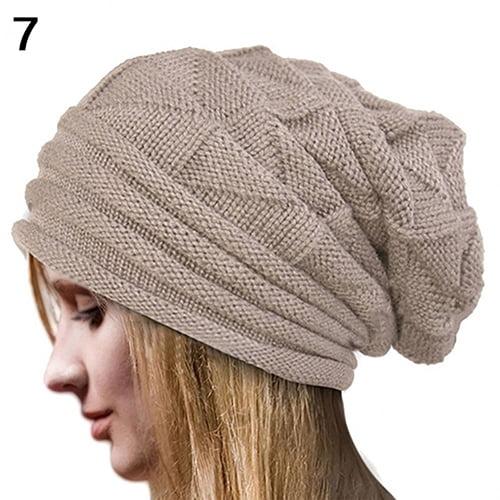 a93e87e74a3490 Girl12Queen - Moderna Men's Women's Winter Solid Color Knit Oversize ...