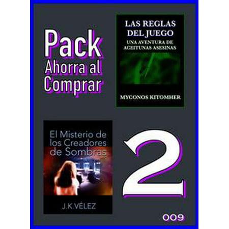 Pack Ahorra al Comprar 2: 009: Las reglas del juego & El Misterio de los Creadores de Sombras - eBook (Juegos De Dia De Halloween)