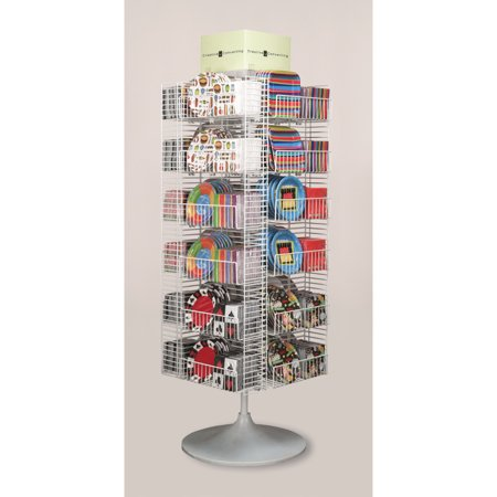 Club Pack of 20 Display Rack Sidekick Spinner Novelty Napkin and Plate Peghook Kit](Christmas Party Plates And Napkins)