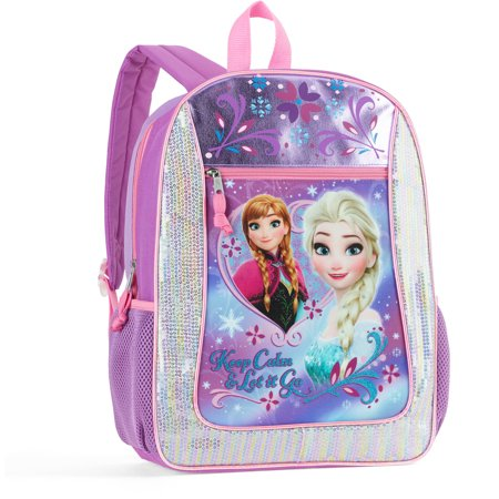 Disney Frozen 16  Full Size Backpack