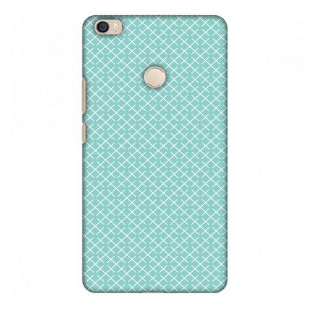 Pastel Checker - Xiaomi Mi Max Case, Premium Handcrafted Designer Hard Shell Snap On Case Printed Back Cover with Screen Cleaning Kit for Xiaomi Mi Max, Slim, Protective - Checkered In Pastel