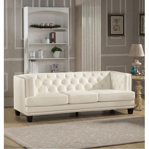 Amax Newport Leather Sofa