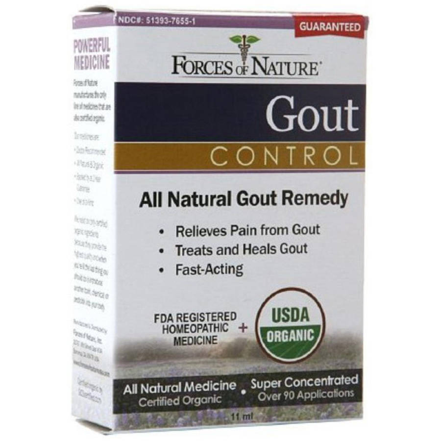 Forces of Nature Gout Control, 11 ML